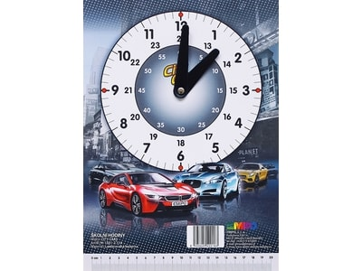 bdfe2f7c7 EMIPO SHOP - Školní hodiny City Cars - Školní hodiny - Doplňky, Pro žáky