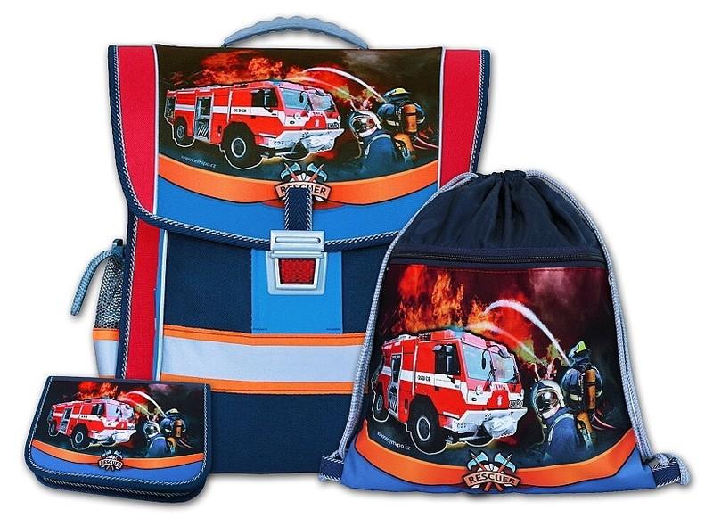 Školní aktovkový set Rescuer 3-dílný