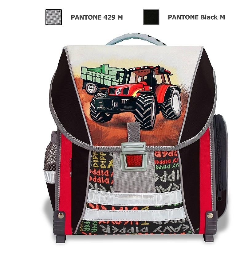 5e067c483db EMIPO SHOP - Školní batoh Traktor - Školní batohy - Pro žáky