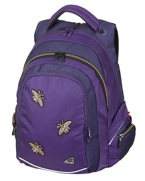 EMIPO SHOP - Studentský batoh FAME Bee Violet - Studentské batohy ... 7d957da03e