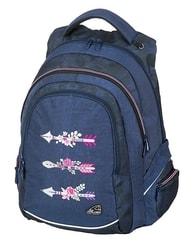 Studentský batoh FAME Arrow Blue fdd53c6e07